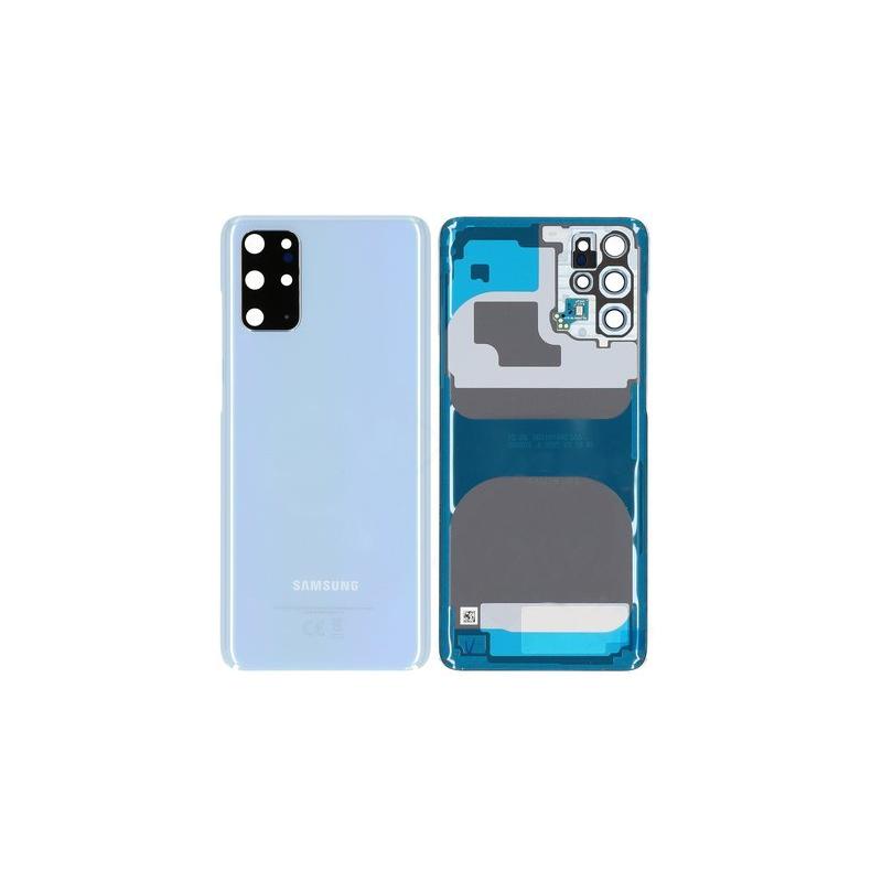 Vitre arrière pour Samsung Galaxy S20 (G980F) Bleu