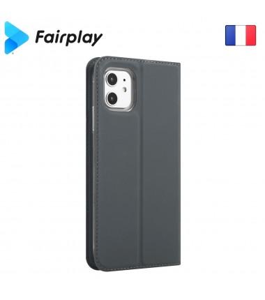 Coque Fairplay Epsilon Huawei Y6 2019 Gris Ardoise