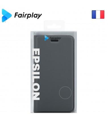 Coque Fairplay Epsilon Galaxy A10 Gris Ardoise
