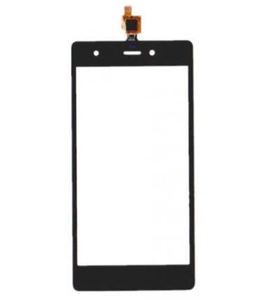 Vitre tactile pour Wiko Pulp 4G Noir