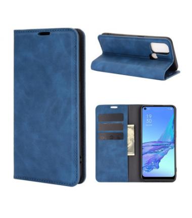 Pochette à rabat Bleu pour Oppo A53