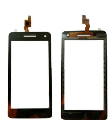 Vitre tactile pour Wiko Rainbow 3G/4G Noir
