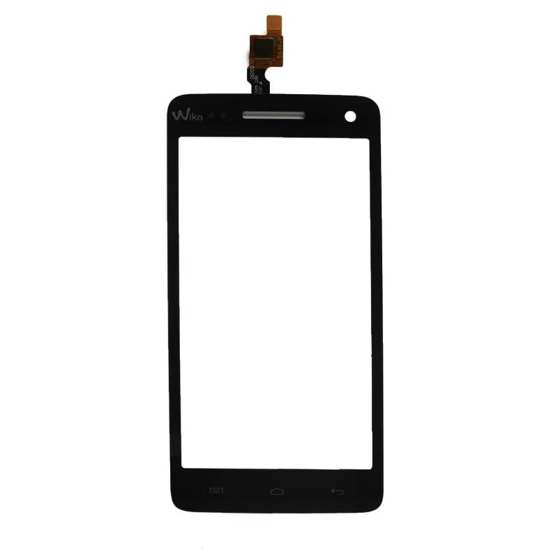 Vitre tactile Wiko Rainbow 3G/4G Noir