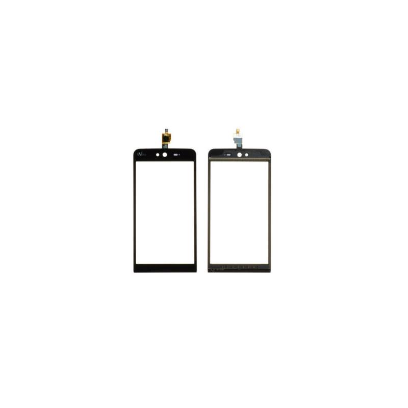Vitre tactile Wiko Rainbow Jam 3G/4G Noir