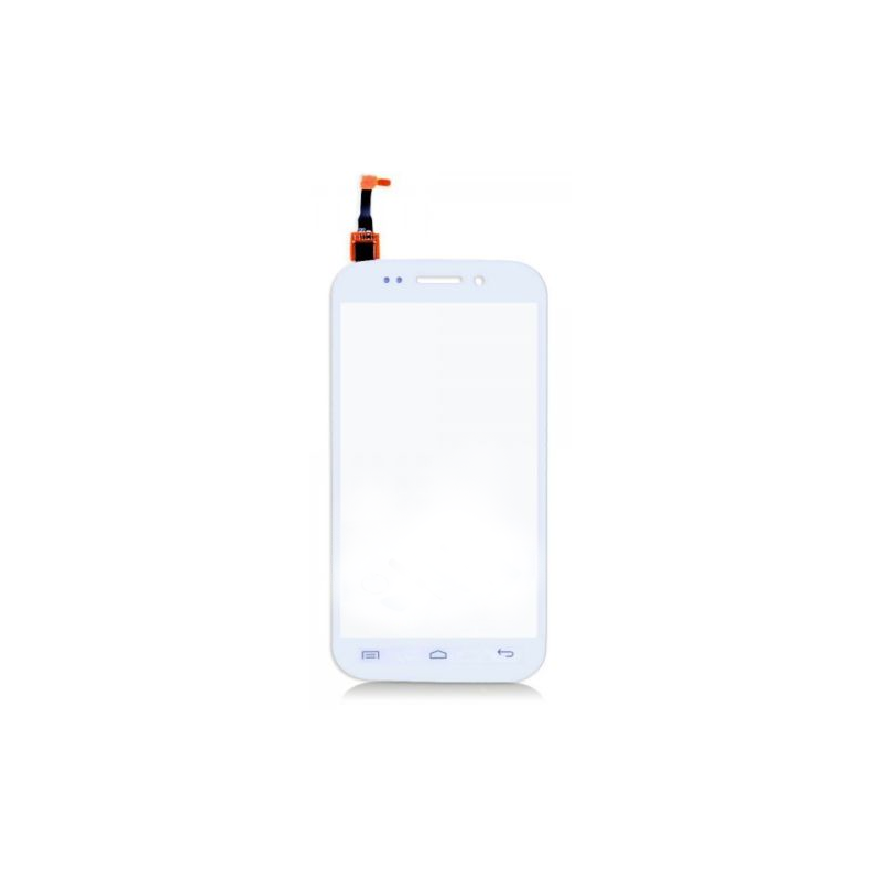 Vitre tactile pour Wiko Stairway Blanc