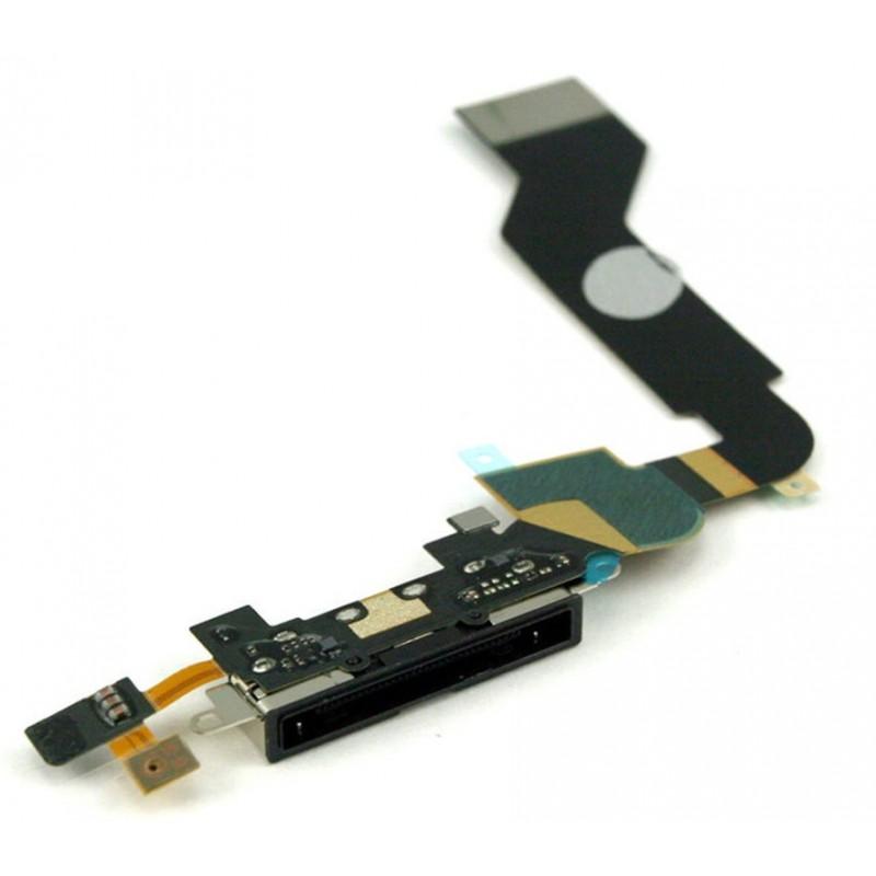 Connecteur de charge iPhone 4S Noir