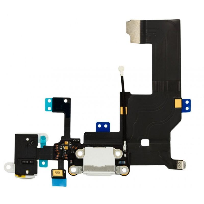 Connecteur de charge iPhone 5 Blanc