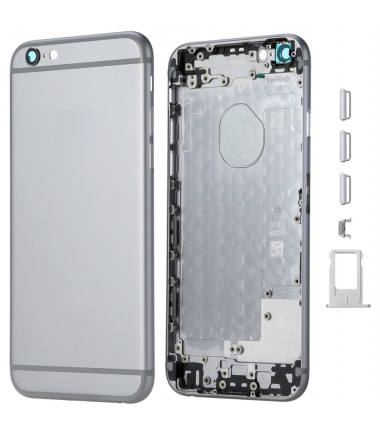 face arriere iphone 6 gris sideral
