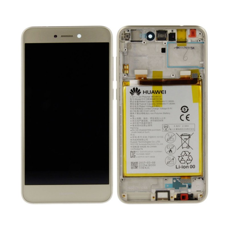 Ecran complet Huawei P8 Lite 2017 Or
