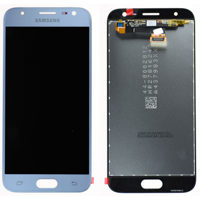 Ecran Samsung Galaxy J3 2017 (J330F) Bleu/Silver