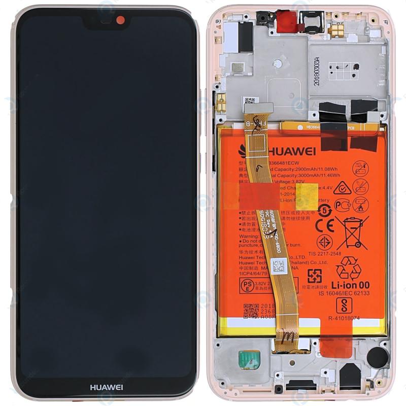 Ecran complet Huawei P20 Lite Rose