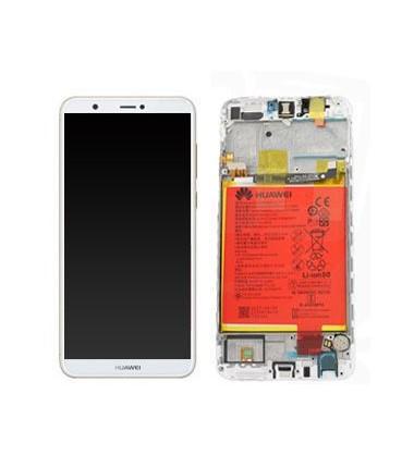 Ecran complet Huawei P Smart Blanc