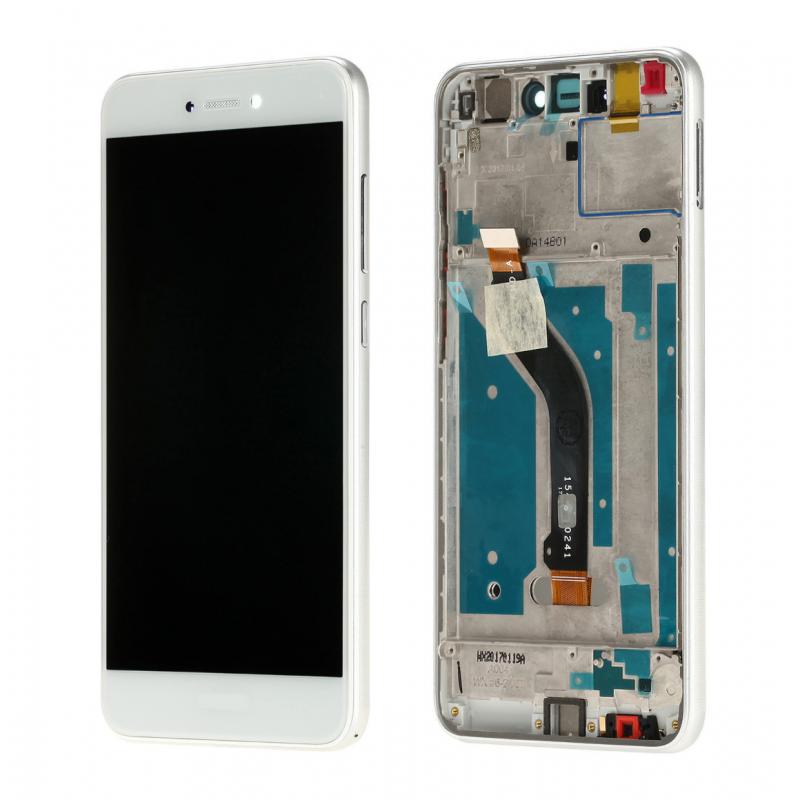 Ecran complet pour Huawei P8 Lite 2017 Blanc