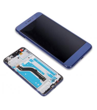 Ecran complet pour Huawei P8 Lite 2017 Bleu