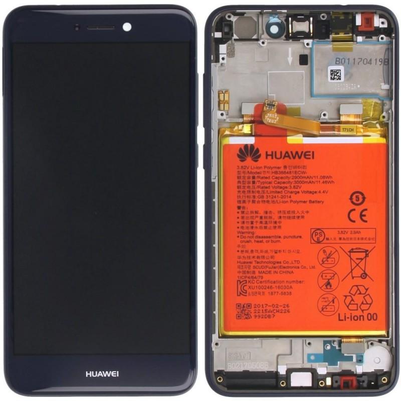 Ecran complet Huawei P8 Lite 2017 Bleu