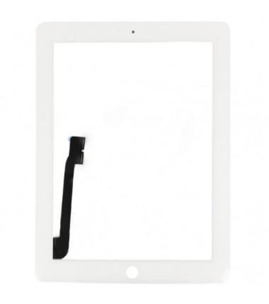 Vitre tactile pour iPad 3 Blanc