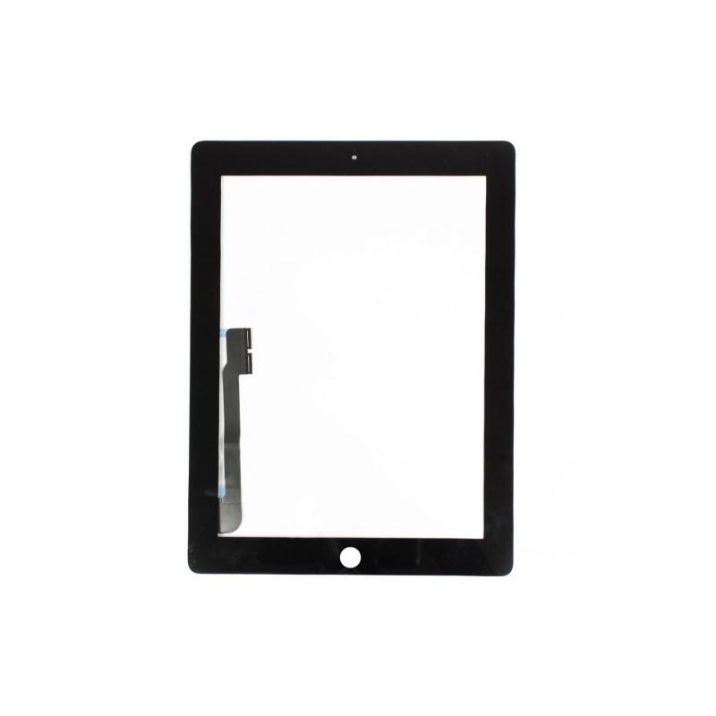 Vitre tactile pour iPad 4 Noir