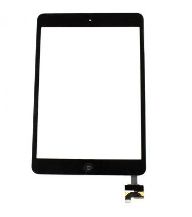 Vitre tactile pour iPad Mini 1 Noir