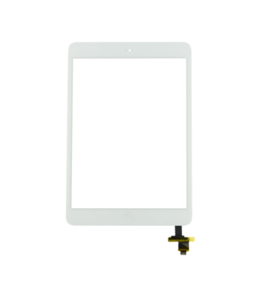 Vitre tactile pour iPad Mini 1 Blanc