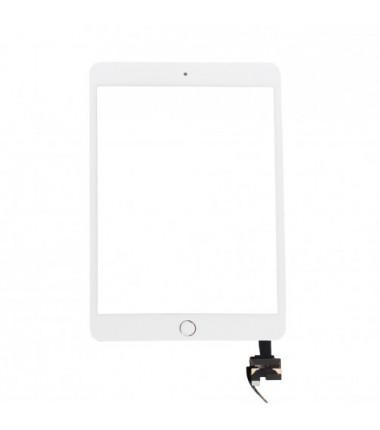 Vitre tactile pour iPad Mini 3 Blanc