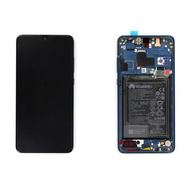 Ecran complet Huawei Mate 20 Bleu
