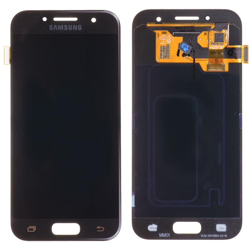 Ecran Samsung Galaxy A3 2017 (A320F) Noir