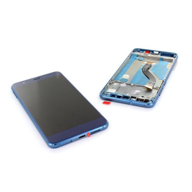 Ecran complet pour Huawei P10 Lite Bleu
