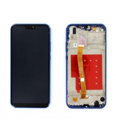 Ecran complet pour Huawei P20 Lite Bleu