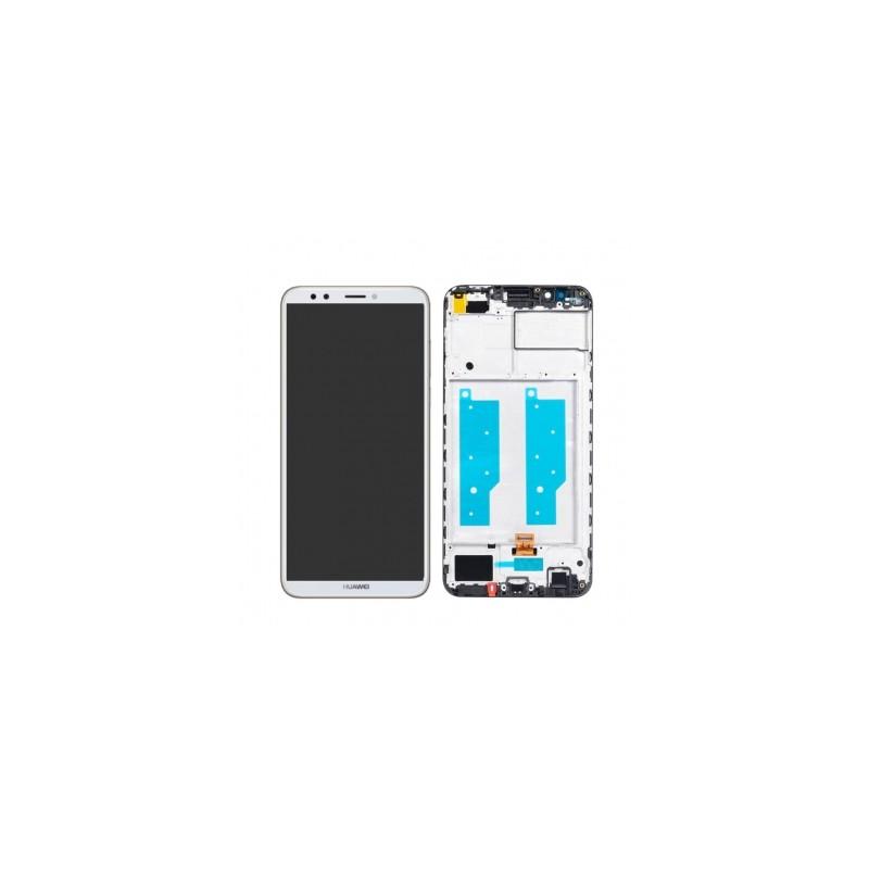 Ecran complet pour Huawei Y7 2018 Blanc