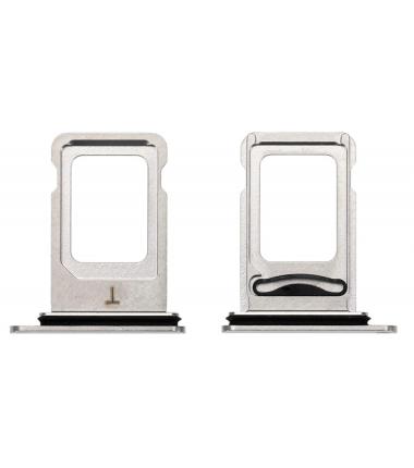 Tiroir SIM iPhone XS Max Argent