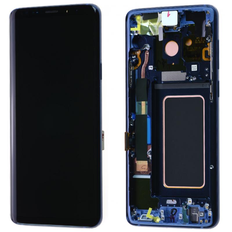 Ecran complet Samsung Galaxy S9+ (G965F) Bleu