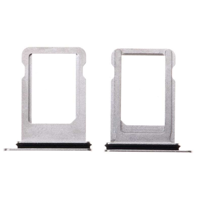 Tiroir SIM iPhone X Blanc