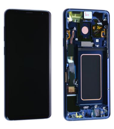 Ecran complet Samsung Galaxy S9 (G960F) Bleu