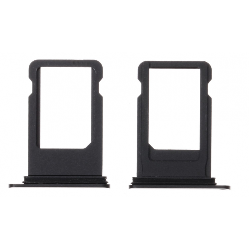 Tiroir SIM iPhone 8/8 Plus Noir