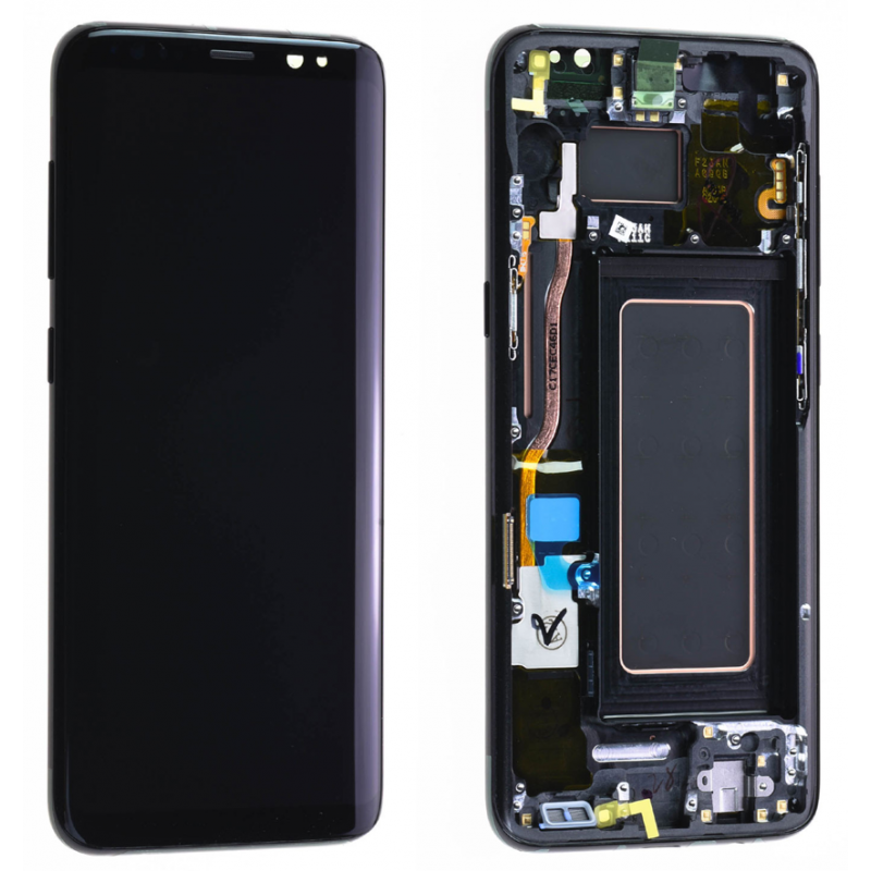 Ecran Complet Samsung Galaxy S8 (G950F) Noir