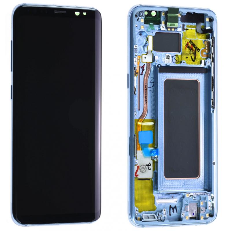 Ecran Complet Samsung Galaxy S8 (G950F) Bleu
