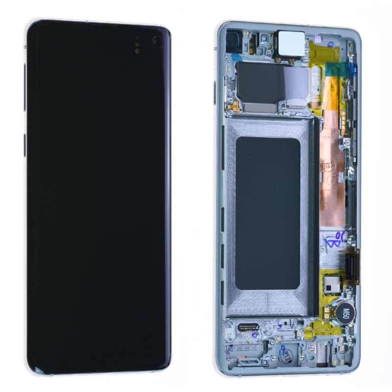 Ecran complet Samsung Galaxy S10 (G973F) Blanc