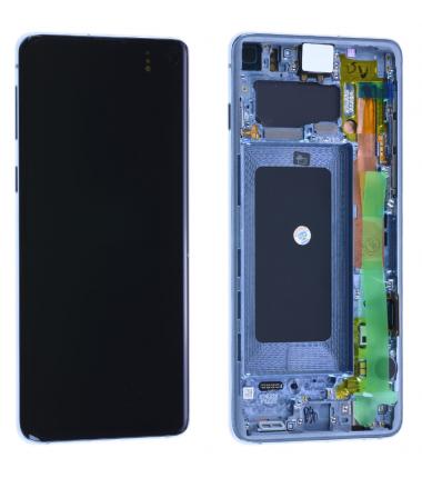 Ecran complet Samsung Galaxy S10 (G973F) Bleu