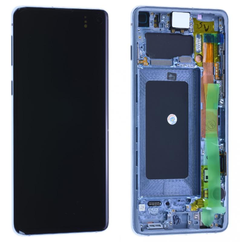 Ecran Samsung Galaxy S10 (G973F) Bleu