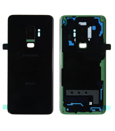 Face arrière Samsung Galaxy S9+ (G965F) Noir (Duos)