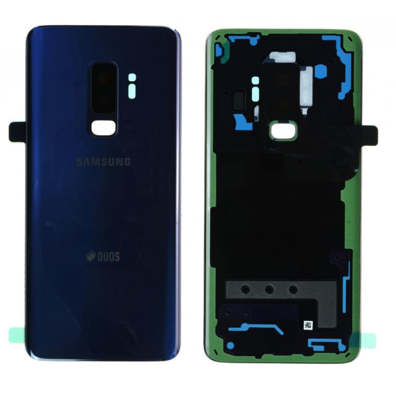 Face arrière Samsung Galaxy S9+ (G965F) Bleu (Duos)