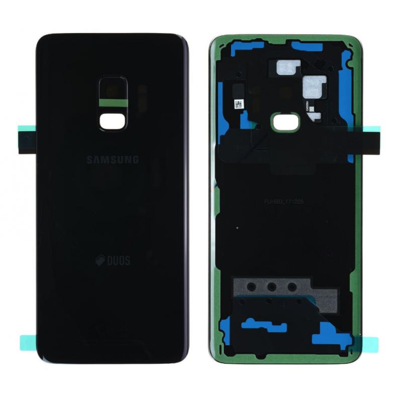 Face arrière Samsung Galaxy S9 (G960F) Noir (Duos)