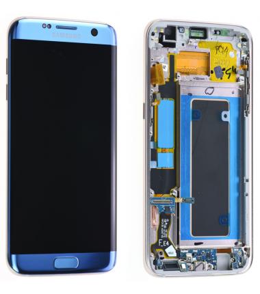 Ecran Samsung Galaxy S7 Edge (G935F) Bleu