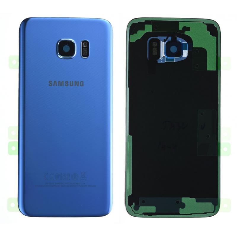 Face arrière Samsung Galaxy S7 Edge (G935F) Bleu