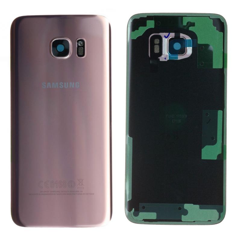 Face arrière Samsung Galaxy S7 Edge (G935F) Rose/Or