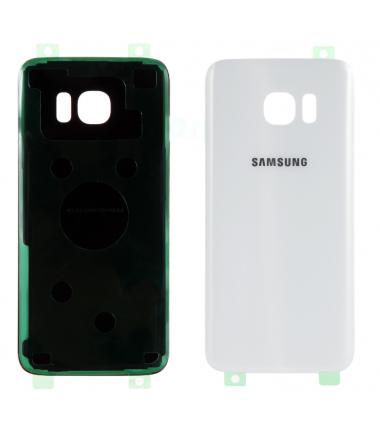 Face arrière Samsung Galaxy S7 Edge (G935F) Blanc