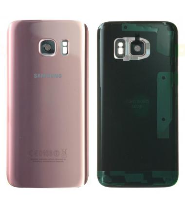 Face arrière Samsung Galaxy S7 (G930F) Rose