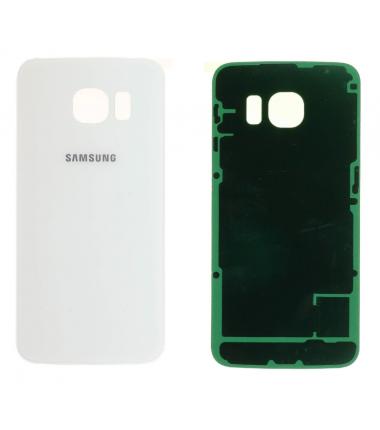 Face arrière Samsung Galaxy S6 Edge (G925F) Blanc