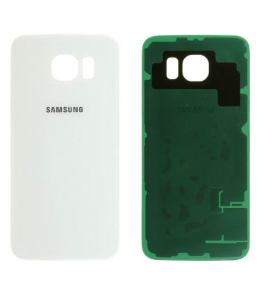 Face arrière Samsung Galaxy S6 (G920F) Blanc