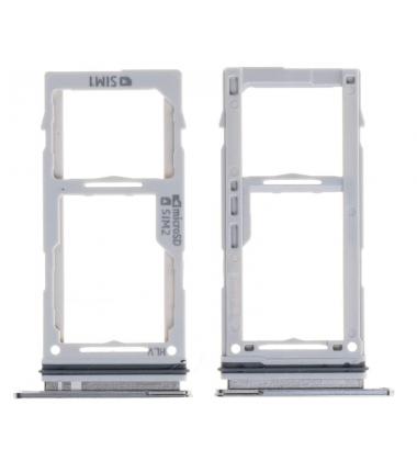 Tiroir SIM Samsung Galaxy S10/S10+ (G973/G975F) Blanc